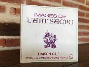 Immagini Di Arte Sacro Collegamento C. L.F Rivista Cementi Lafarge Francia N 18