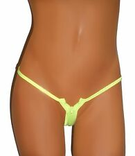 Sohimary String 422 tanga XS S M L 32 34 36 38 verde cremallera erotismo