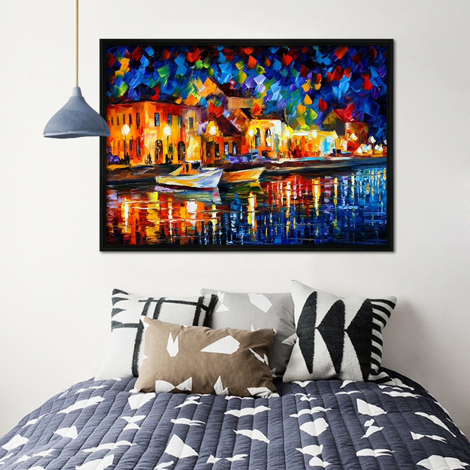 3D Paint House 65 Fake Framed Poster Home Decor Print Painting Unique Art Summer