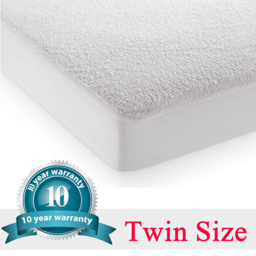Mattress Cover Protector Fitted Sheet Bed Waterproof Topper King Size Soft Terry