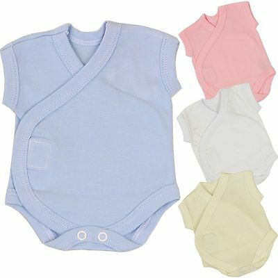 7.5lb BabyPrem Preemie Micro Baby Girls Clothes 3 Pack One-Piece Bodysuits 1lb