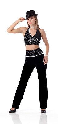 Jet Set Jazz Tap Tuxedo Ballet Dance Costume Child & Adult Groups Marked Down