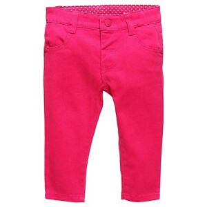 Baby-Girls-New-With-Tags-Raspberry-Sorbet-Stretch-Jeans-Pants-Size-3-24-Mths