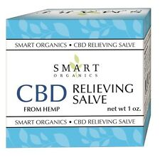 Smart Organics Hemp Relieving Salve 1 oz.