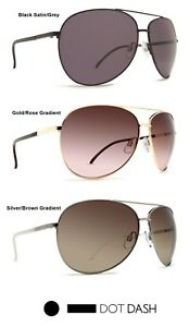2f69e61f71 NEW Dot Dash Nookie Mens Womens Unisex Aviator Wrap Round Sunglasses ...