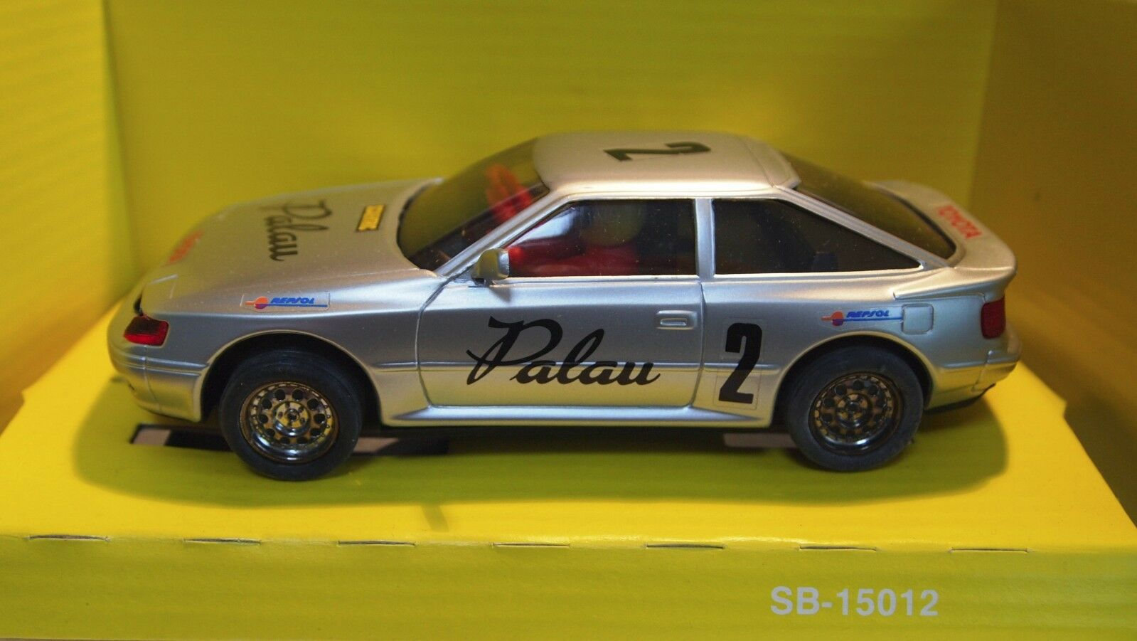 Scalextric SCX 8367 Toyota Celica PALAU -Spanish Import - Limited Ed Rare Car