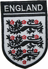 England Football Badge Embroidered Patch 9cm Sew-on or Iron-on