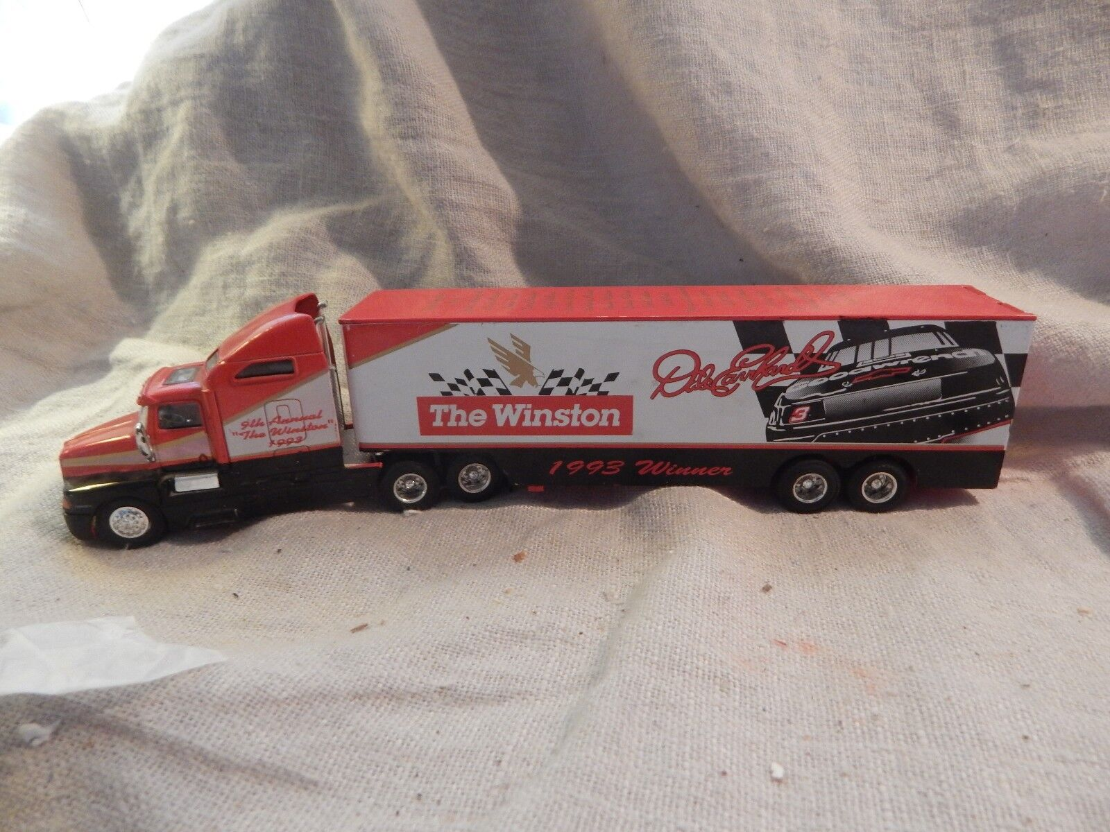 1993 Racing Champions Dale Earnhardt The Winston Champion Hauler Die Cast