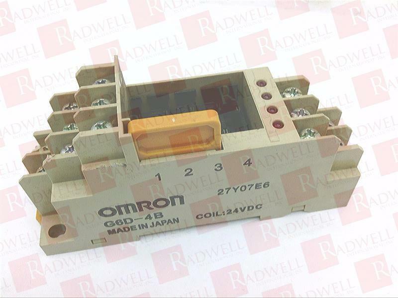 OMRON G6D-4B-DC24   G6D4BDC24 (NEW NO BOX)