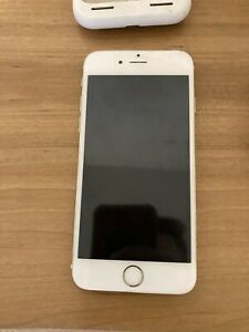Gold iPhone 6 Model A1549 - For Parts Only (with Box And Charging Case)
