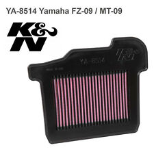 Yamaha FZ-09 MT-09 K&N High Performance Air Filter YA-8514 FZ09 MT09