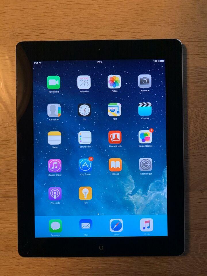 iPad 2, 64 GB, sort