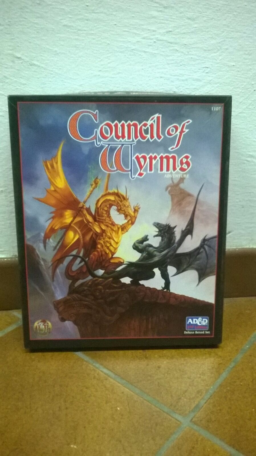 Advanced Dungeons & Dragons: Council of Wyrms Adventure Boxed Set,  1107, 1997