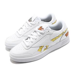 Reebok-Royal-Techque-T-Tom-and-Jerry-White-Yellow-Grey-Men-Women-Unisex-H00841
