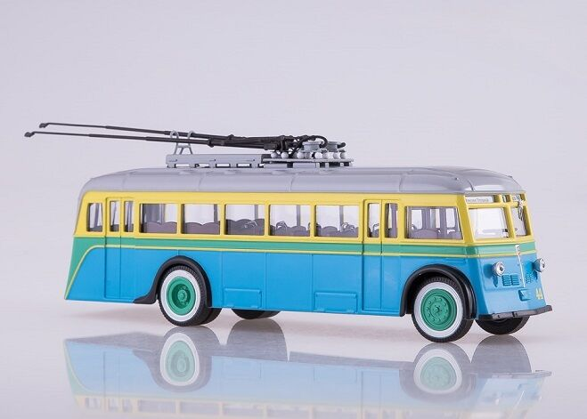 Soviet bus . yatb - 1 Russian filobus.
