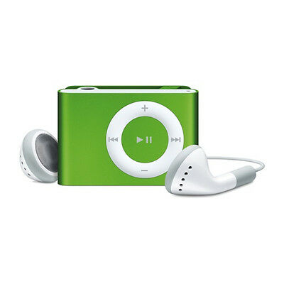 Apple iPod Shuffle 2nd Generation Green (1 GB) | eBay