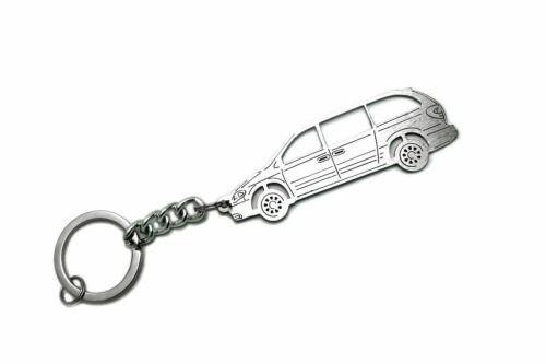 Edelstahl Schlüsselanhänger für Chrysler Grand Voyager 4 Schlüsselanhänger...