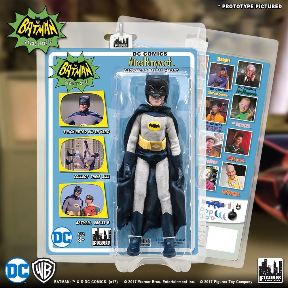 Batman Classic 1966 TV series Retro Figure Series 6 Alfrouge déguisé en Batman