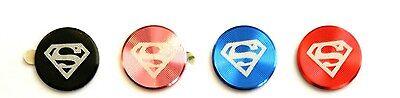 SUPERMAN Handy Ipad Sticker Home Button Iphone 3/ 4 /4S/ 5/ 6 Schmuck Aluminium