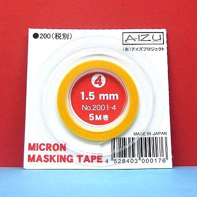 Aizu Micron Masking Tape 1.5mm x 5m #2001-4