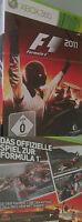 Xbox360 F 1 2011 Formula 1 F1 Formel 1 Xbox 360 Spiel Wettkampf Rennspiel Deutsc
