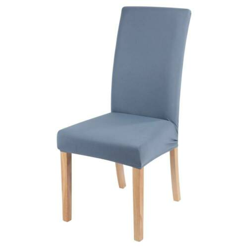 Universal Dining Chair Seat Covers Slip Stretch Wedding Banquet Party Removable!