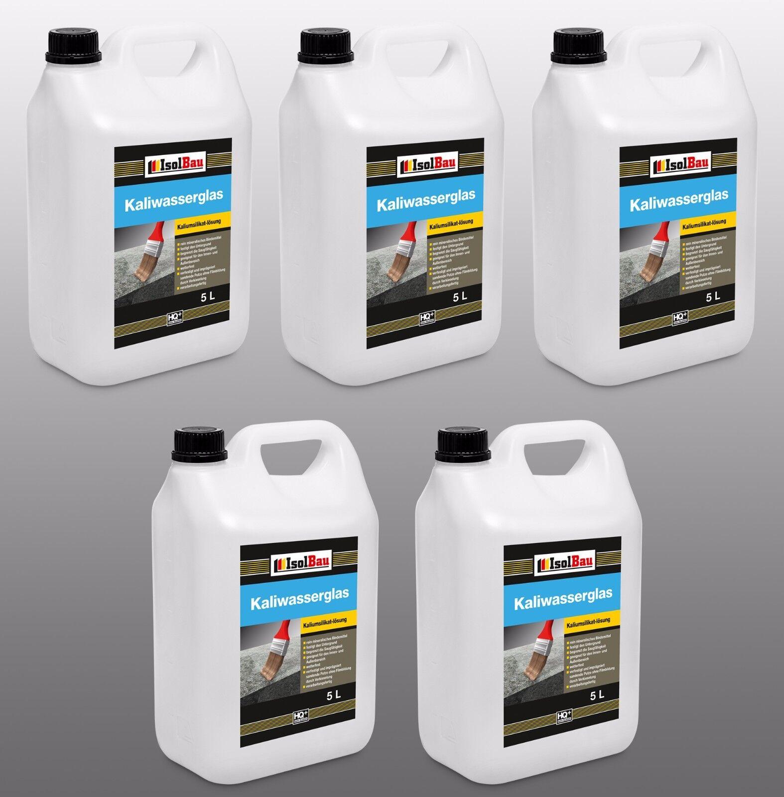 25 Liter Kaliwasserglas Oberflächen Grundierung Konservierung altbewährt