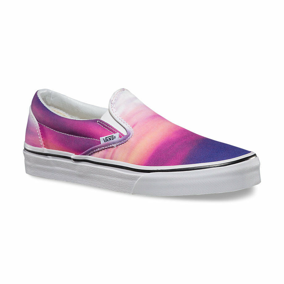 Vans CLASSIC SLIP-ON Womens Shoes (NEW) Sizes 5-11 SUNSET PURPLE : Free Shipping