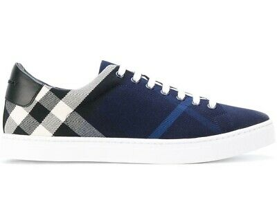 Burberry sneakers shoes man in fabric