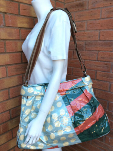 Twill Vinyl £520 Satin In amp; Bag Bnwt Coated Retail Tote Marni Italy Made 5AFHqxnw
