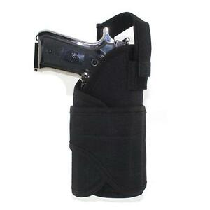 Tactical-Molle-Waist-Pistol-Holster-Adjustable-Righthand-Gun-Holster-Pouch-BLACK