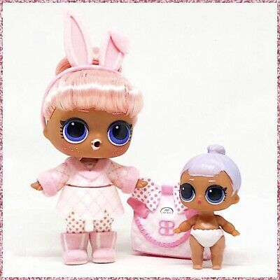 rare LOL Surprise Doll LIL SNOW BUNNY Series 4 LIL SISTER toy Color Change