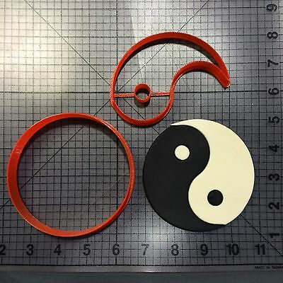 Yin and Yang Cookie Cutter Set