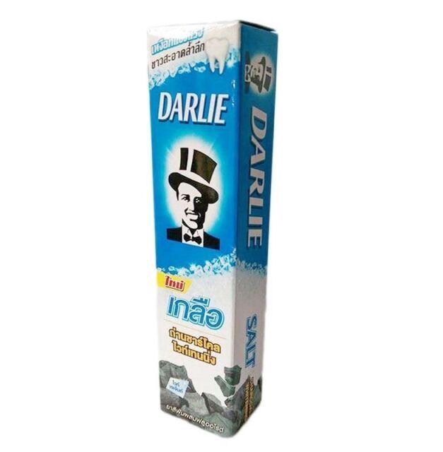 35g Darlie Salt Charcoal Whitening Formula Healthy Gum Teeth Clean