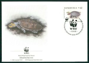 Le Venezuela Bijoux-fdc 1992 Wwf Faune Animaux Animals Tortue Turtle El88-afficher Le Titre D'origine