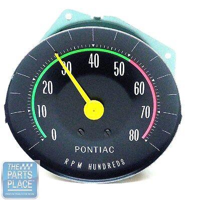 1965 Pontiac GTO OE Factory RPM Dash Tach Tachometer With ...