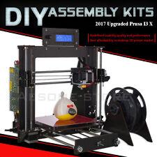 Latest model LCD Screen High Precision Reprap Prusa I3 DIY KIT Pro X 3D Printer