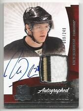 10-11 Nick Johnson The Cup Auto Rookie Card RC #135 Sweet Jersey Patch 009/249