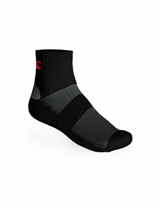 Canterbury DrySock Pro Sports Socks - Black - New