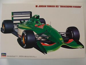 Hasegawa 1:24 Jordan Yamaha 192 F1 Modellbausatz - NRW, Deutschland - Hasegawa 1:24 Jordan Yamaha 192 F1 Modellbausatz - NRW, Deutschland