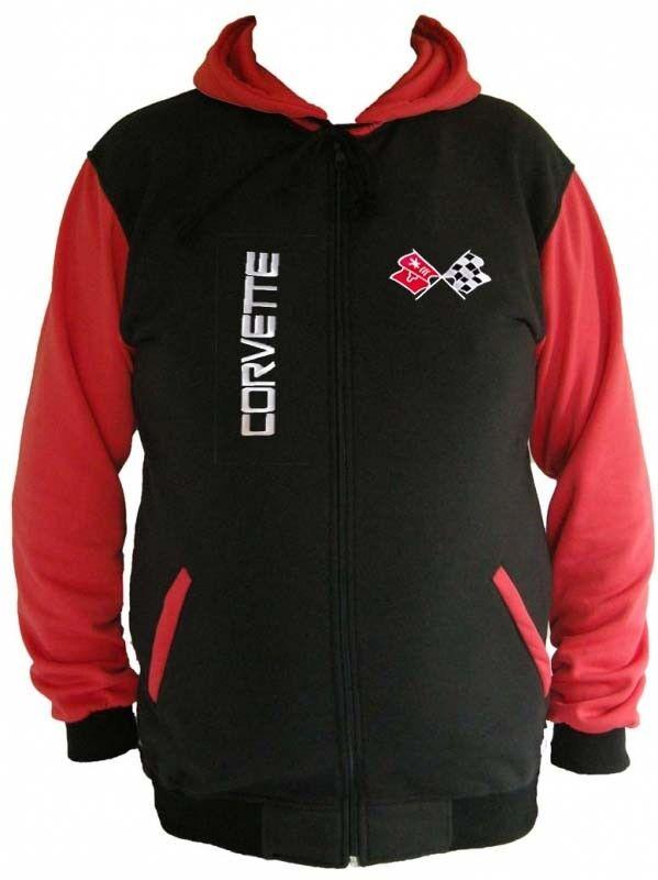 Corvette C3 Fan Sweatshirt Kapuzenjacke Hoodie Lieferz. ca. 8 Tage