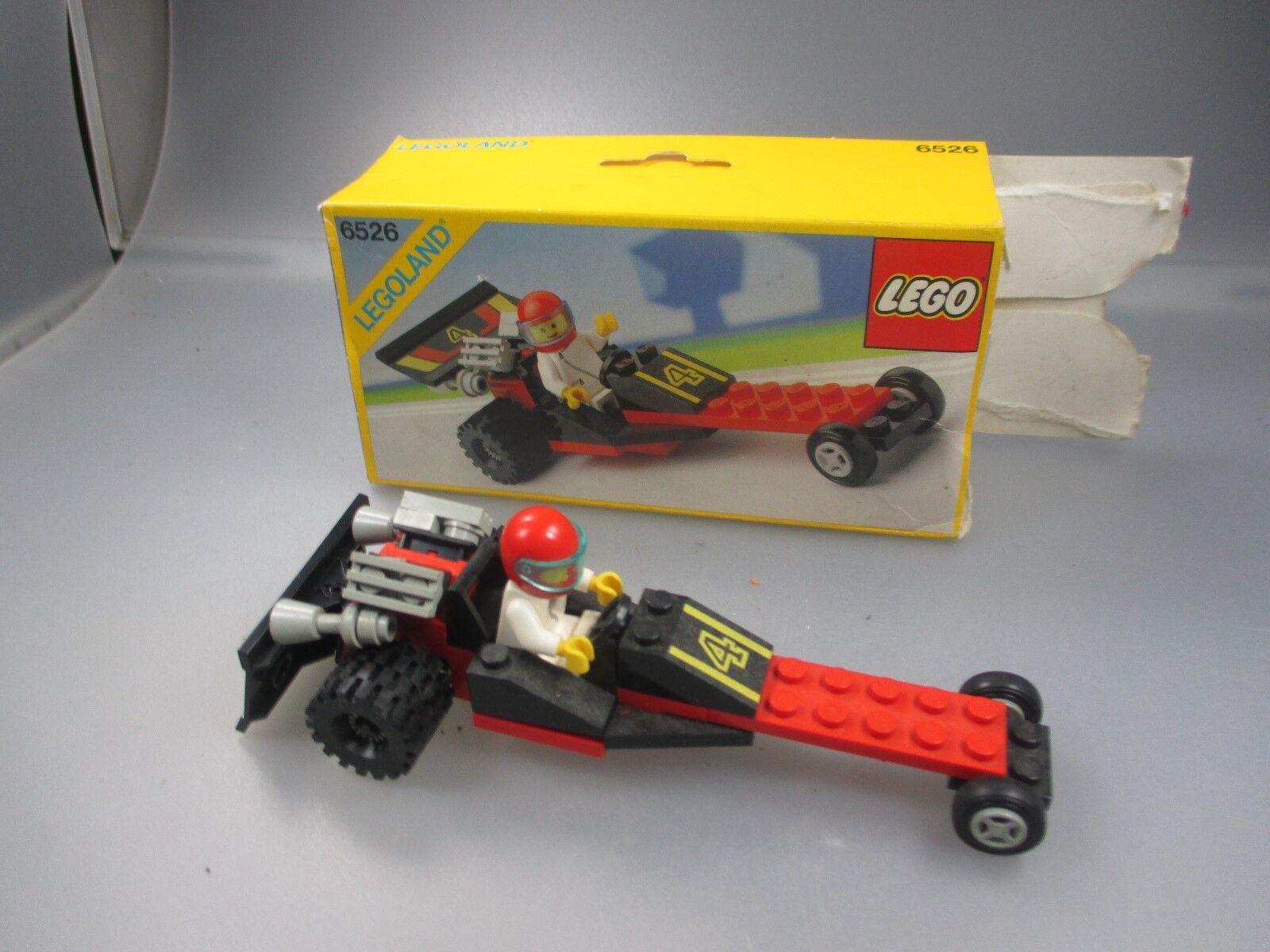 Lego 6526 Legoland rot Line Racer   Rote Linie Racer (Stiege50)
