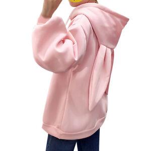 6ef27902366 Image is loading Kawaii-Clothing-Sweater-Hoodie-Harajuku-Korea-Japan-Rabbit-