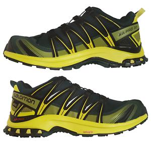 Detalles de Salomon Xa pro 3D GTX 42 46.5 Hombre Gore Tex Senderismo Exterior Zapato