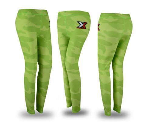 Donna Compressione Livello Base Pantaloni Lunghi Sportivi Running YOGA collant Skins