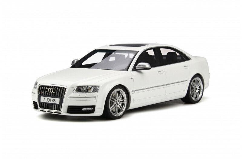 Audi S8 D3 2008 Weiß 1 18 - OT699 OTTOMOBILE Neu,OVP,nib  | Deutschland Shop