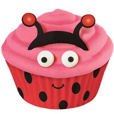 NEW WILTON LADYBUG DECORATING KIT