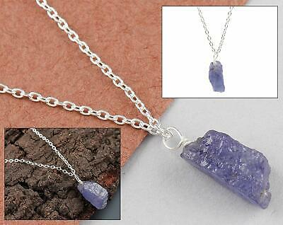 tanzanite necklace Limited edition tanzanite necklace natural raw tanzanite necklace raw tanzanite tanzanite and gold necklace
