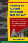 Mastering the National Admissions Test for Law by Mark Shepherd (Paperback, 2005)