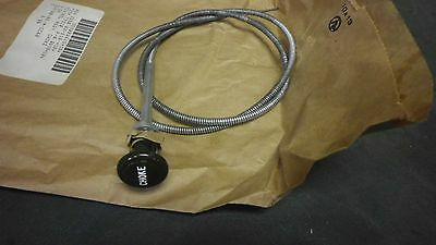 Jeep Willys MB GPW M38 M38A1 M151 NOS green knob Choke cable 36""